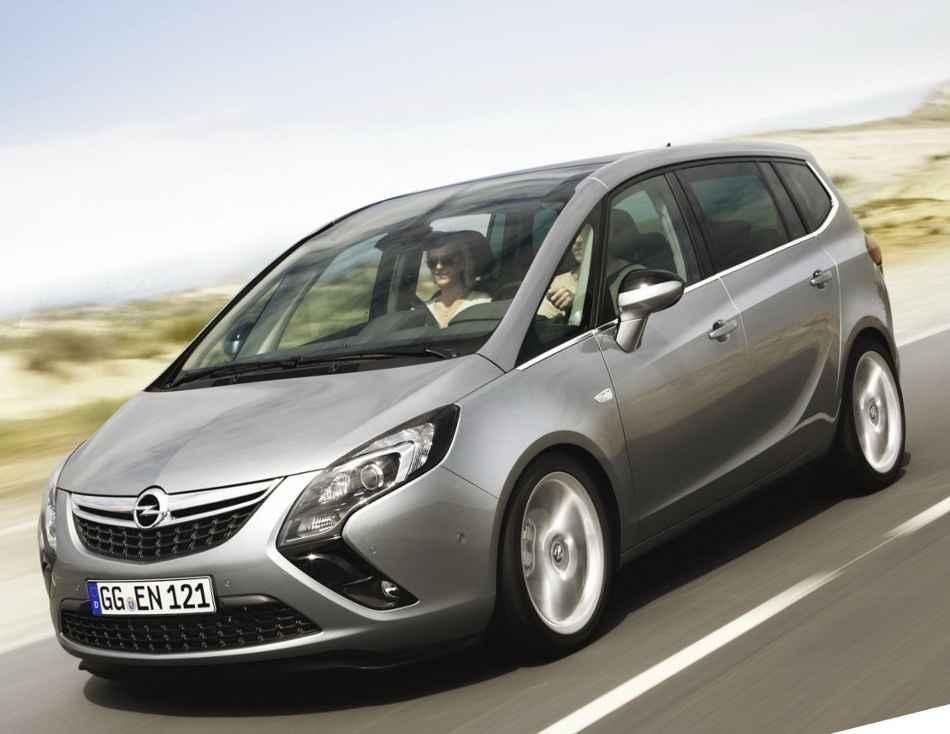 Фото Opel Zafira Tourer 2012 года