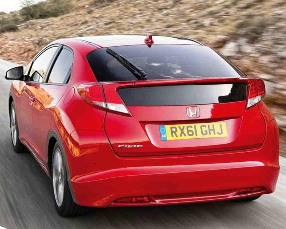 Фото сзади Civic 5D 2012
