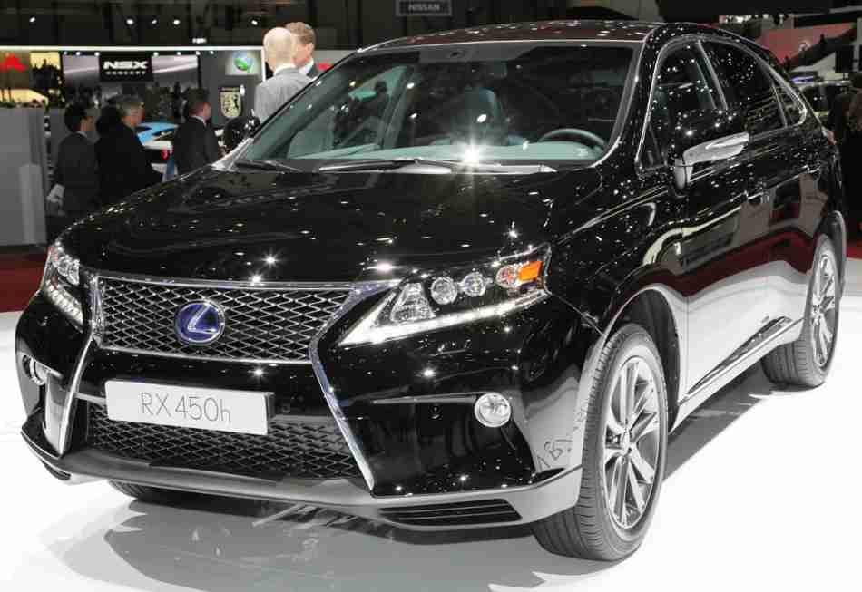Lexus RX 450h 2013 года
