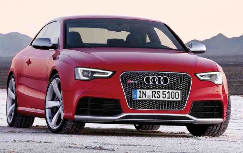 Новое купе Audi RS5 2012