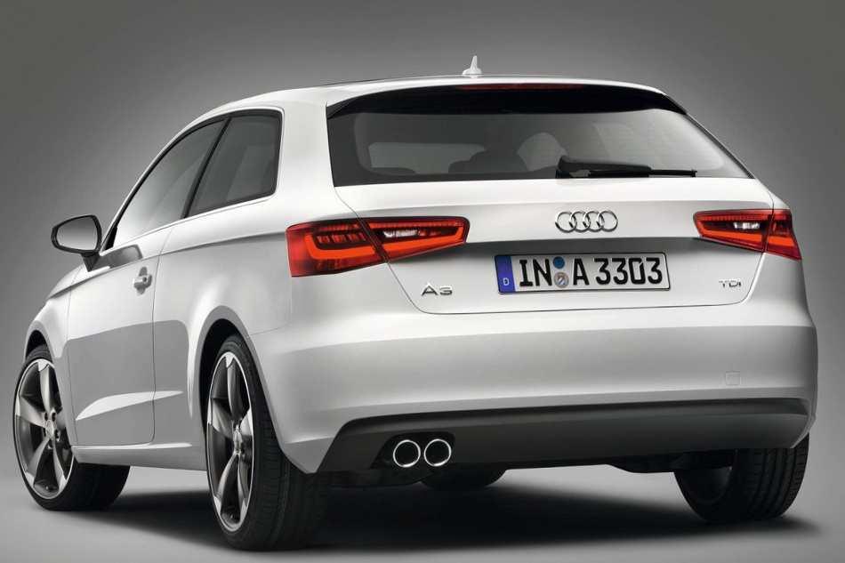 Новый Audi A3 2013 года