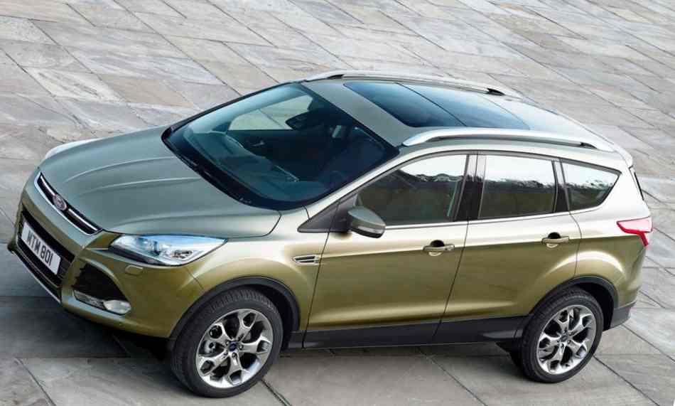 Новый Ford Kuga 2012