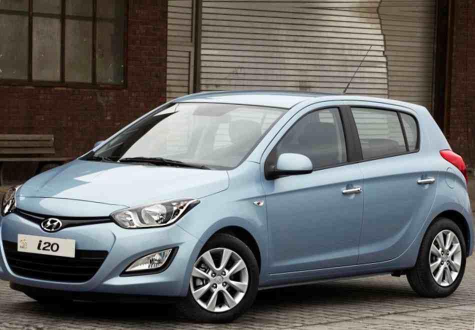 Новый Hyundai i20 2013 года