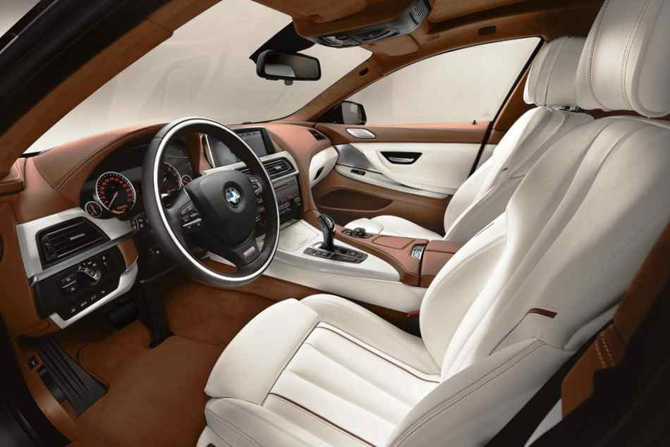 Салон BMW 6-Series Gran Coupe 2013 года