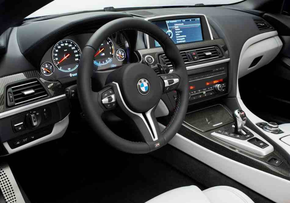 Салон BMW M6 Coupe