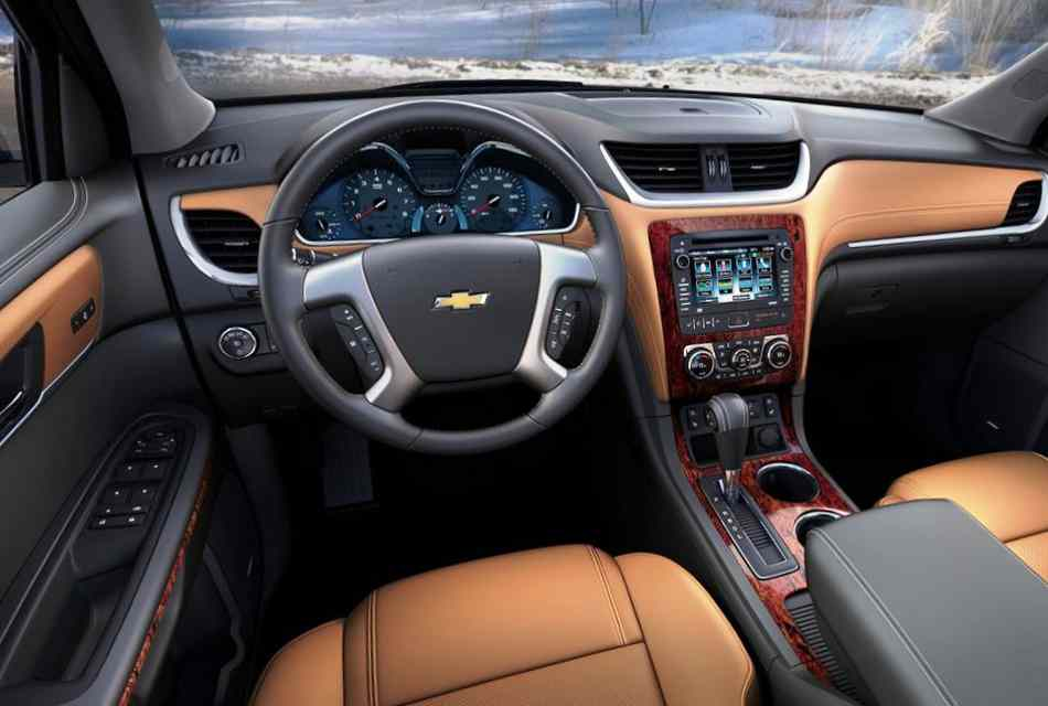 Салон Chevrolet Traverse 2013