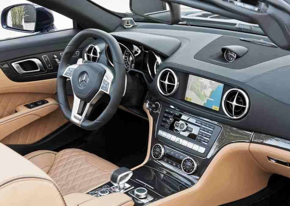 Салон Mercedes-Benz SL65 AMG 2013