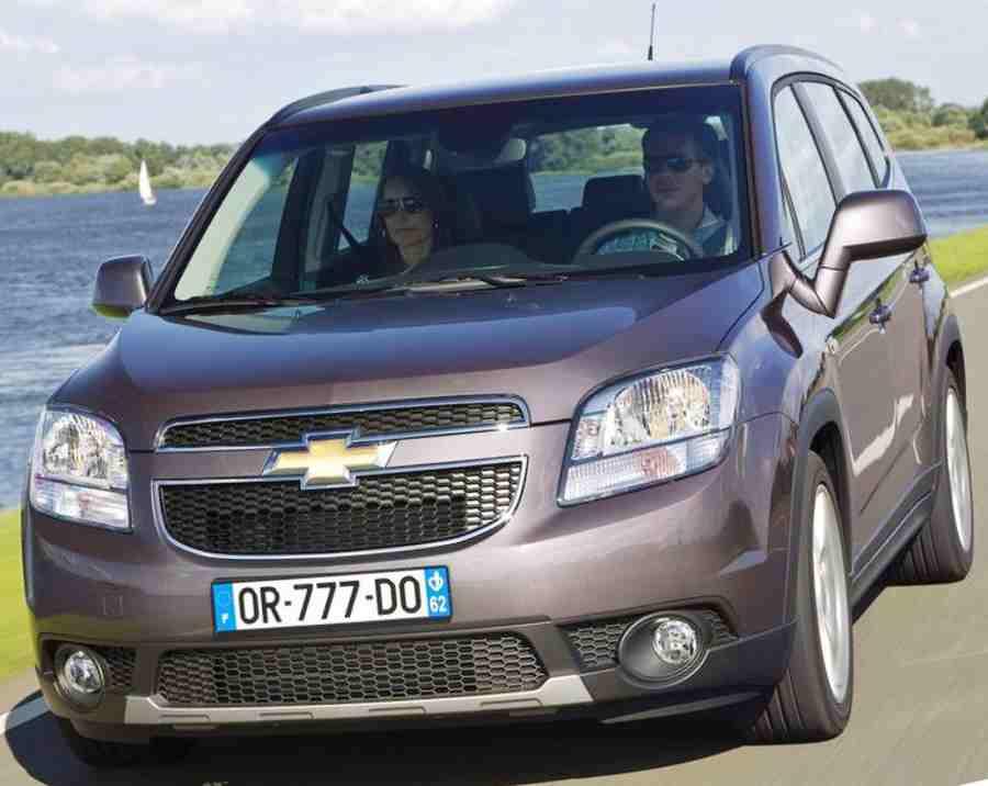 Тест-драйв Chevrolet Orlando 2012 года