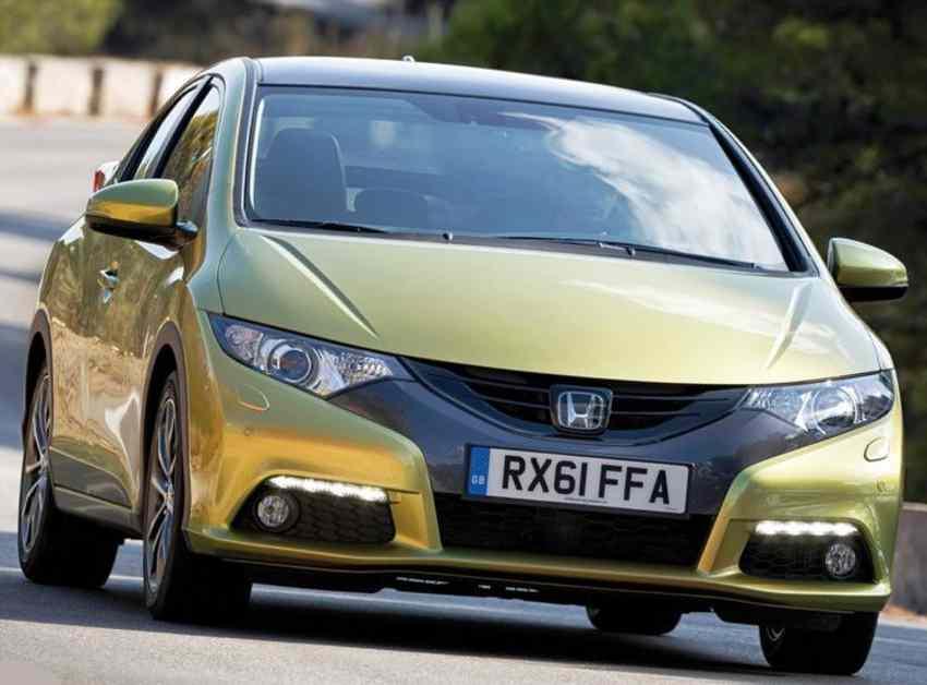 Тест-драйв Honda Civic 5D нового 9 поколения