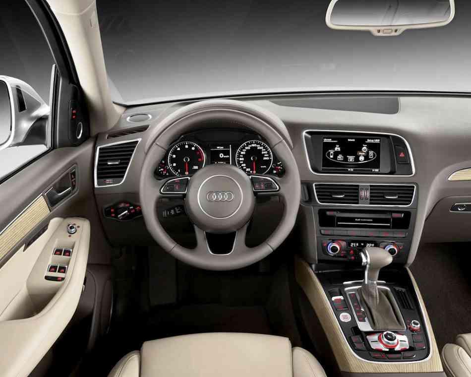 Audi Q5 2013 салон