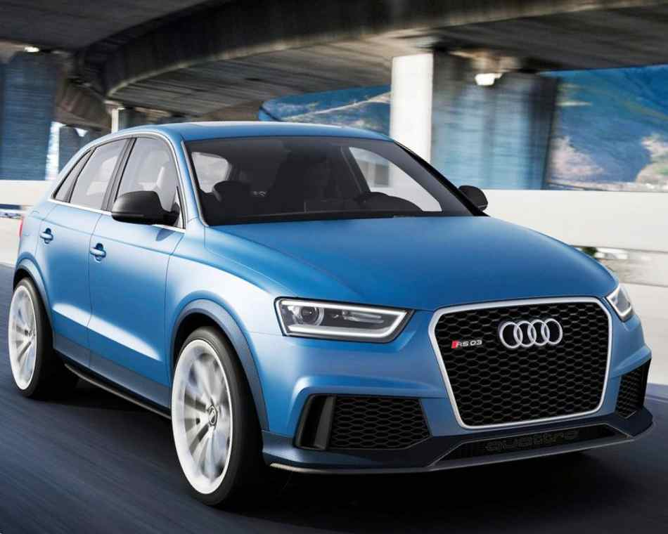 Audi RS Q3 Concept 2012 фото