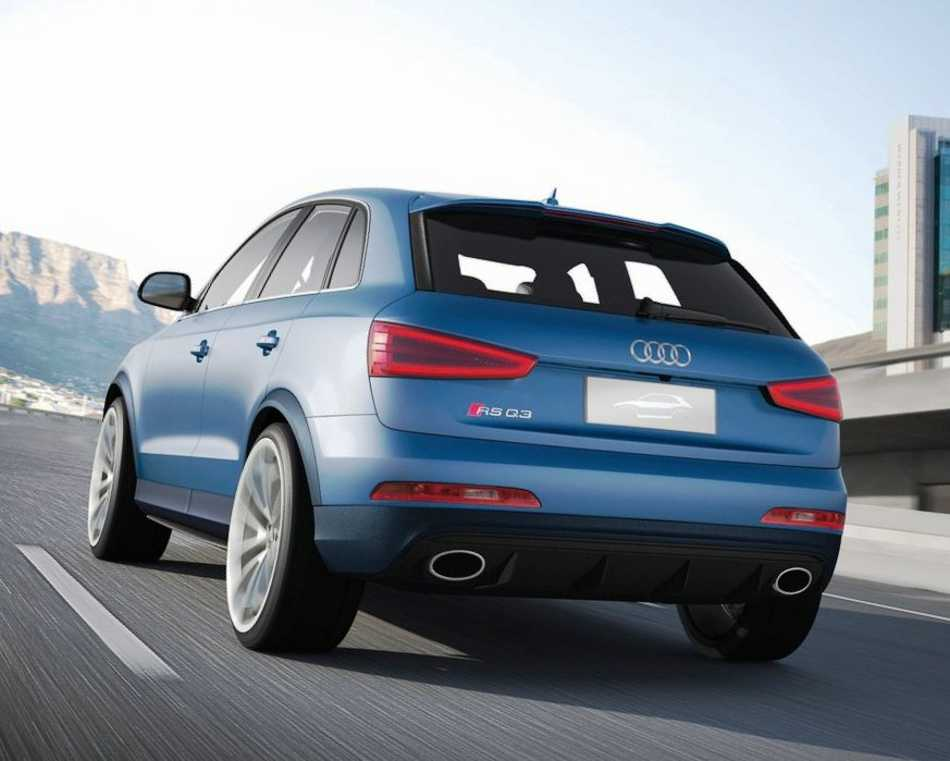 Audi RS Q3 Concept 2012 задние фонари