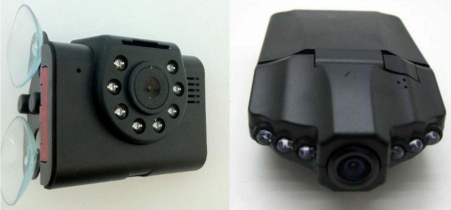 Авто видеорегистратор с ИК-подсветкой