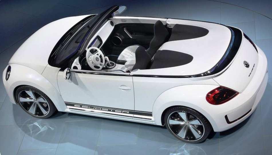 Электромобиль Volkswagen E-Bugster Speedster Concept 2012