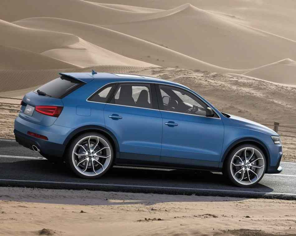 Фото сбоку Audi RS Q3 Concept 2012