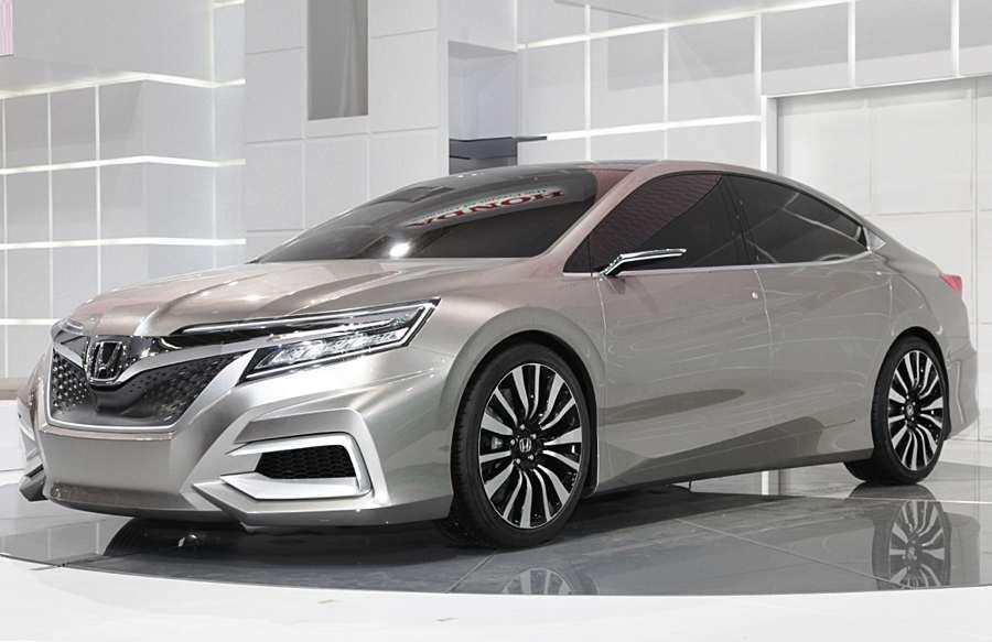 Фото сбоку Honda C Concept 2012