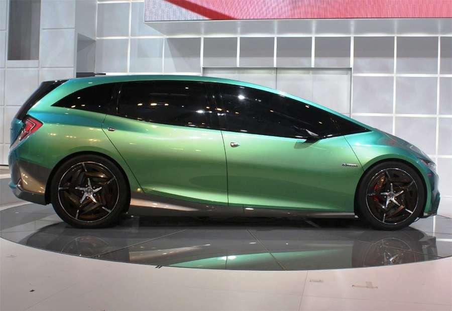 Фото сбоку Honda S Concept 2012