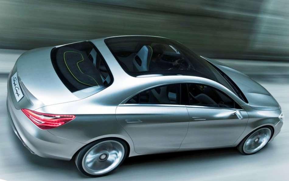 Фото сбоку Mercedes Style Coupe Concept 2012