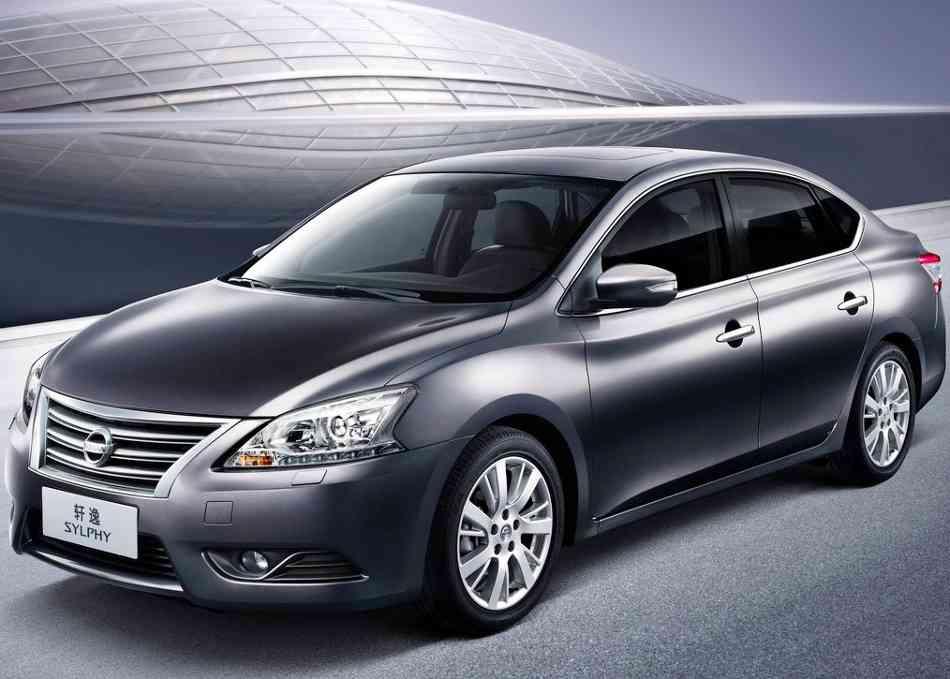 Фото сбоку Nissan Sylphy (Almera) 2013 года