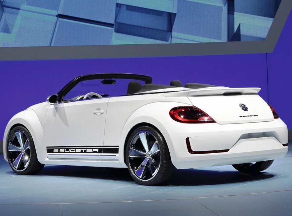 Фото сзади Volkswagen E-Bugster Speedster Concept 2012