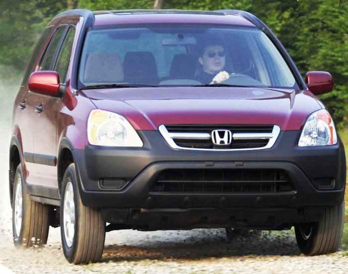 Honda отзывает CR-V 2002-2004