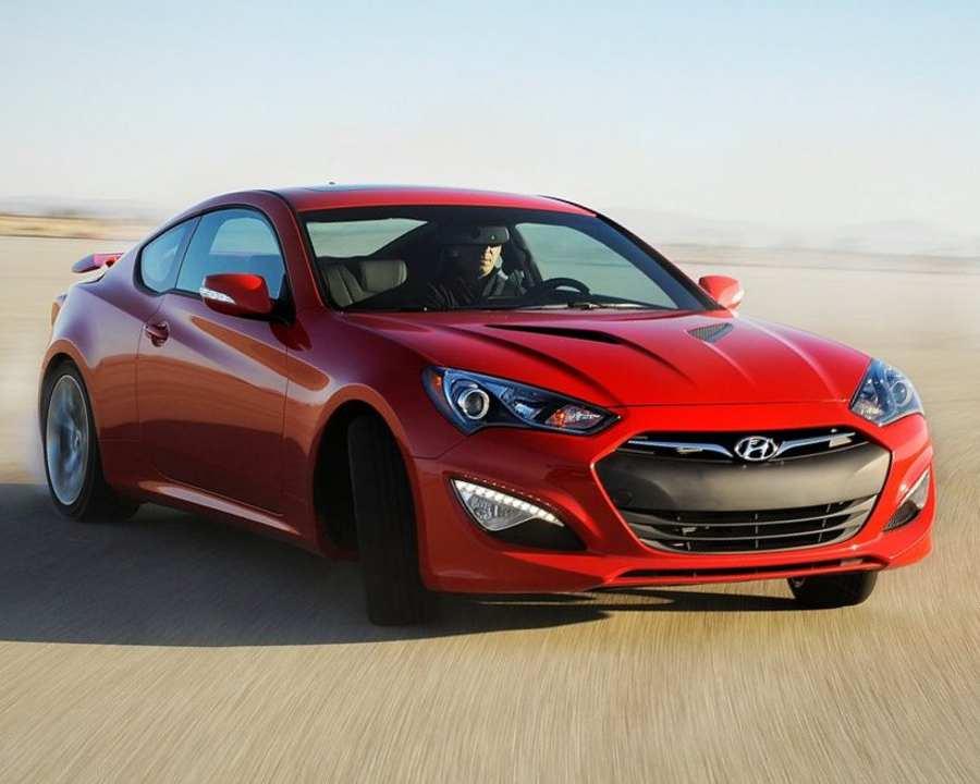 Hyundai Genesis Coupe 2012 фото
