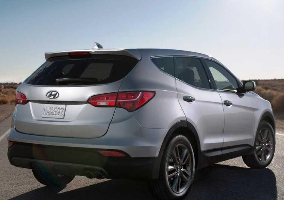Hyundai Santa Fe 2013 - задние фонари
