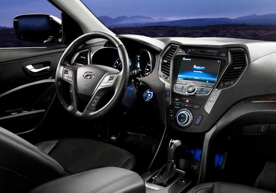 Hyundai Santa Fe Sport - фото салона