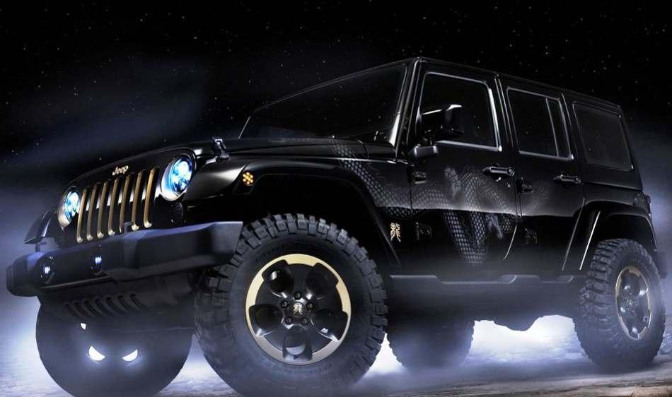 Jeep Wrangler Dragon 2012 фото