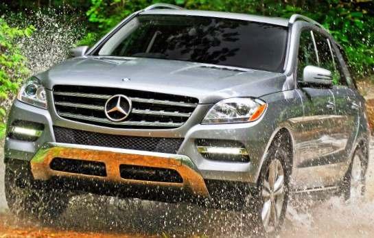 Mercedes ML 350 (W166) 2012 - тест-драйв