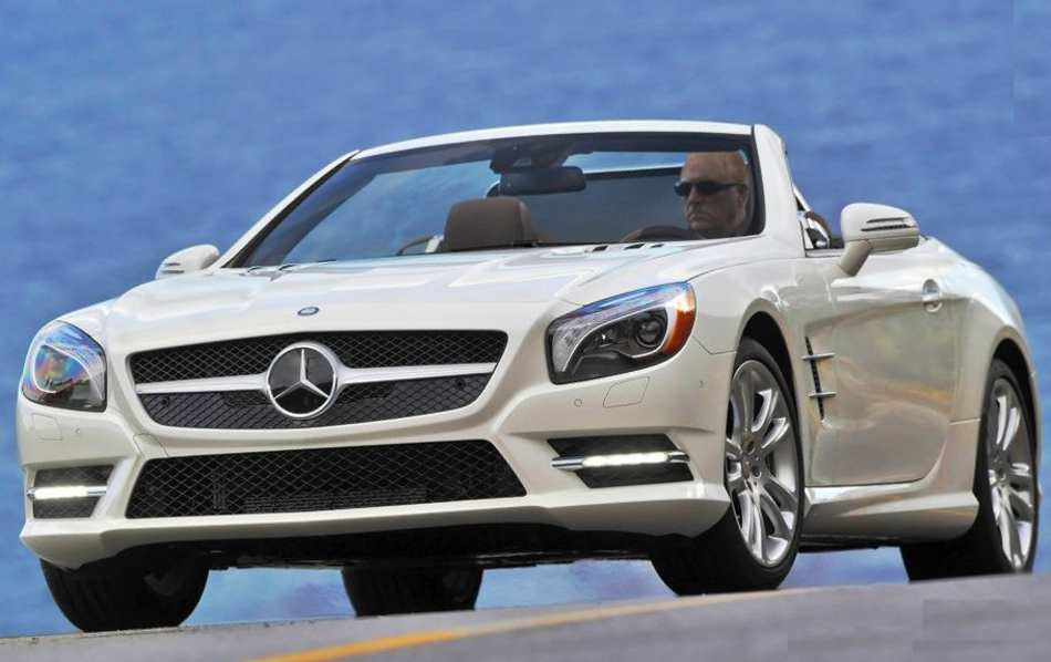 Mercedes SL550 2013 фото