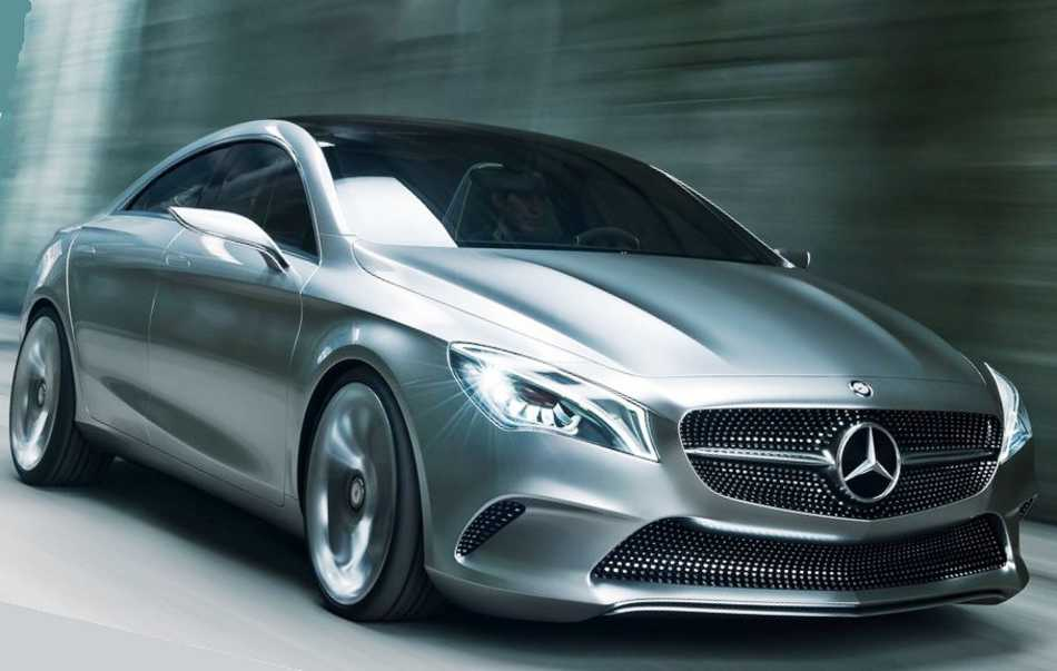 Mercedes Style Coupe Concept 2012 фото