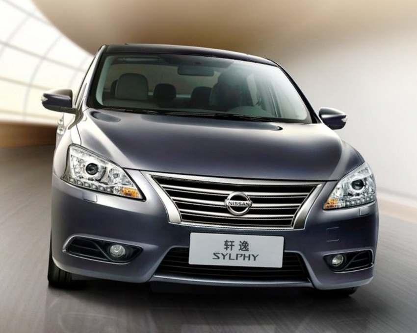 Nissan Sylphy (Almera) 2013 фото