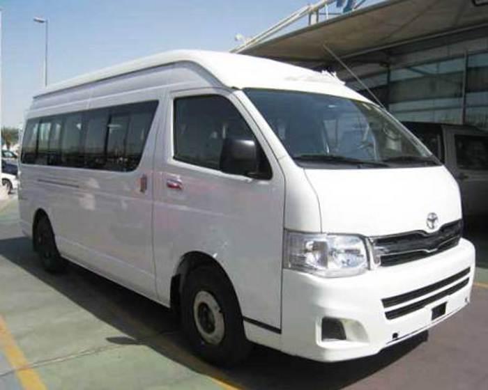 Новый Toyota Hiace 2012 с дизельным двигателем