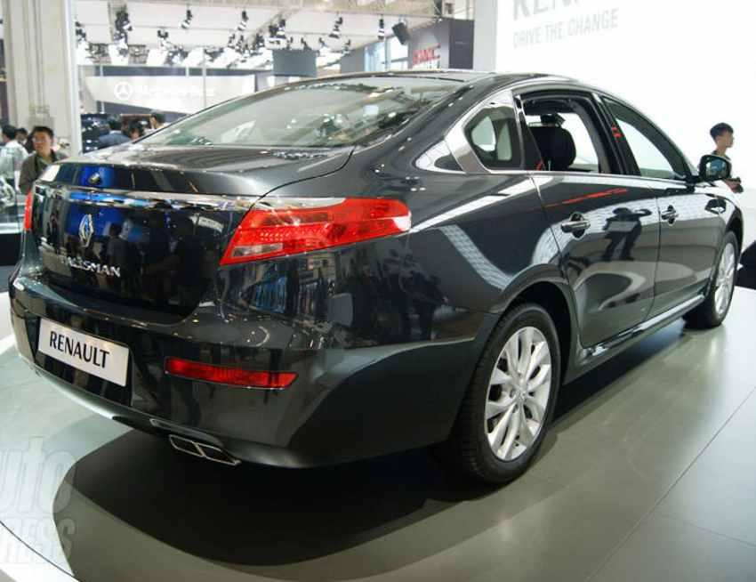Renault Talisman - задние фонари
