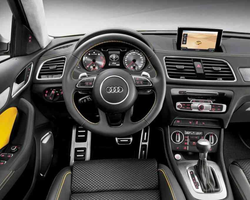 Салон Audi Q3 Jinlong Yufeng 2012