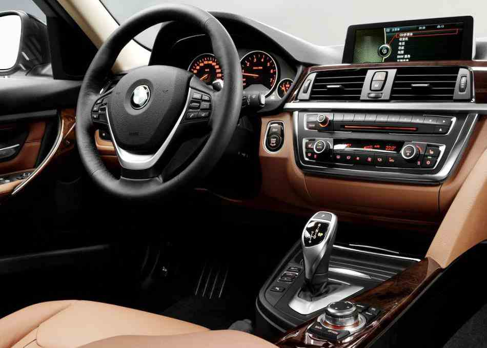 Салон BMW 3-Series Long Wheelbase 2013