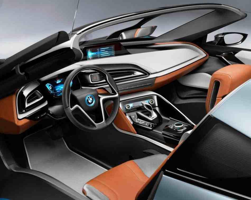 Салон BMW i8 Spyder Concept