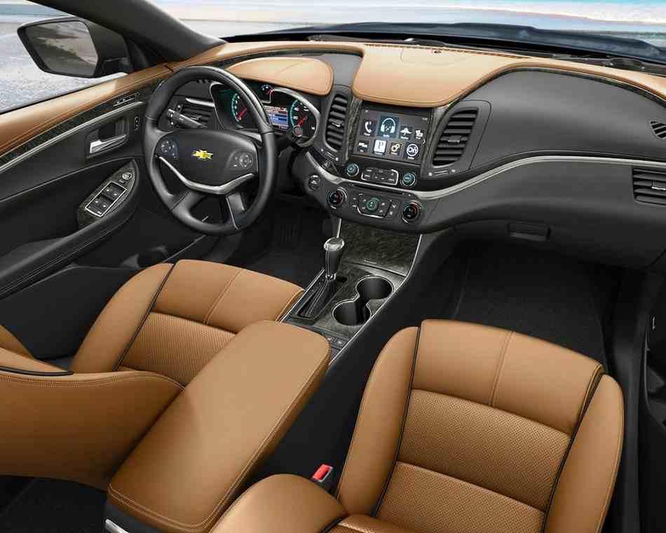 Салон Chevrolet Impala 2014
