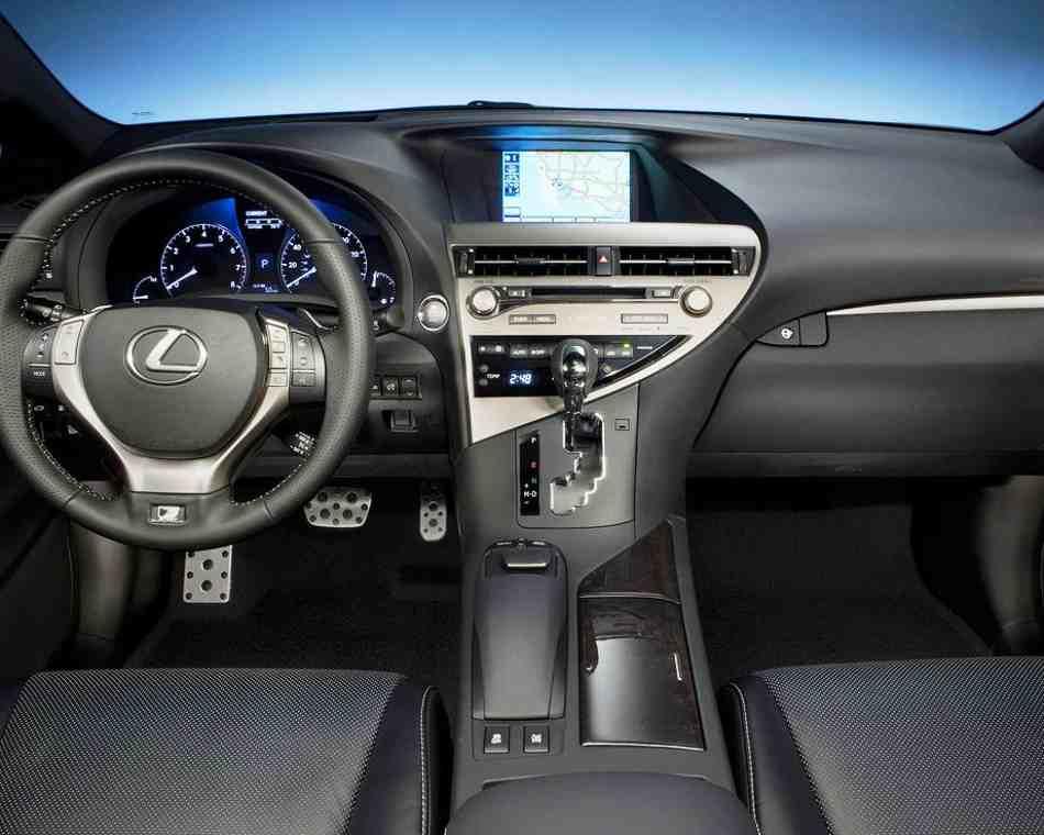 Салон Lexus RX 350 F Sport 2013