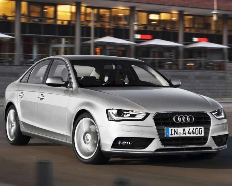 Тест-драйв Audi A4 2012 (видео)