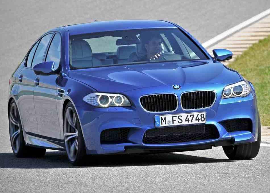 Тест-драйв BMW M5 2012