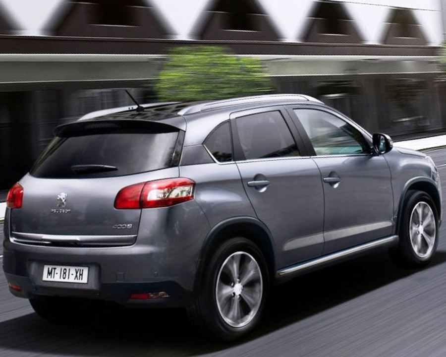 Тест-драйв Peugeot 4008 (видео)