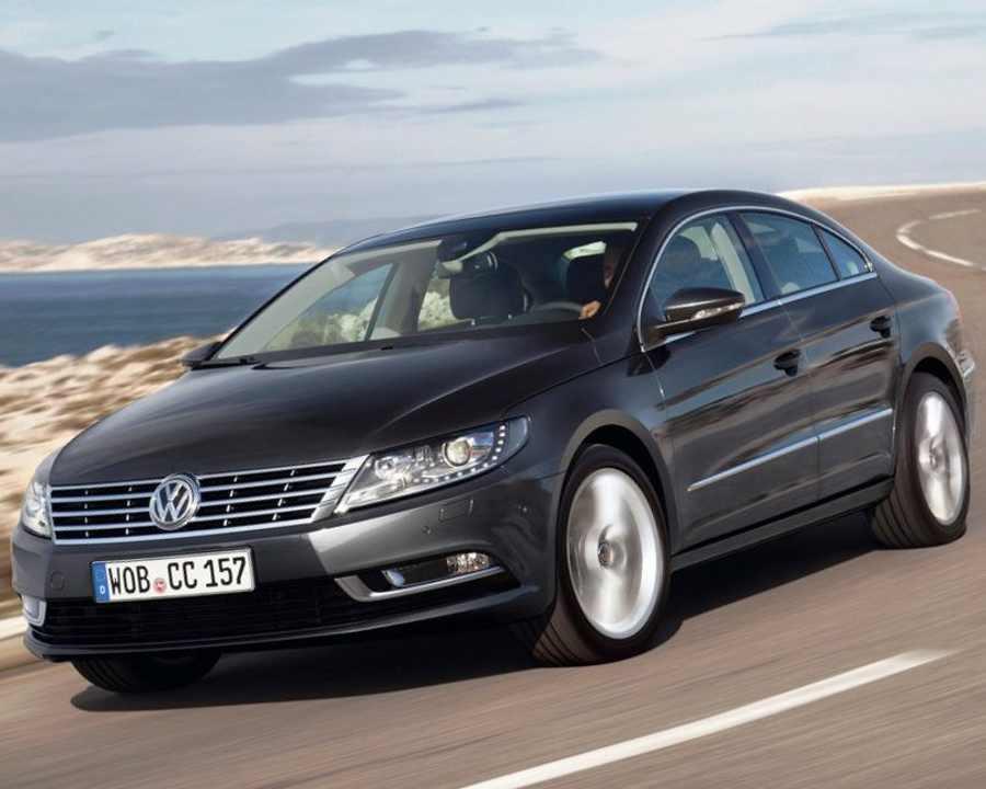 Тест-драйв Volkswagen Passat CC 2012