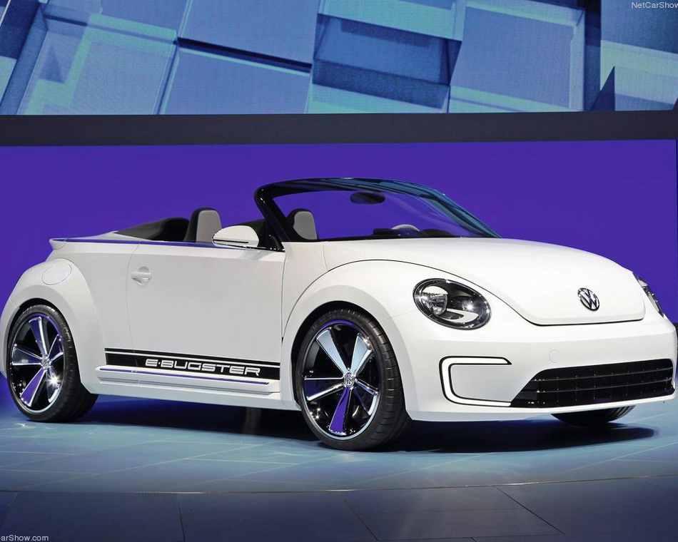 Volkswagen E-Bugster Speedster Concept 2012 фото