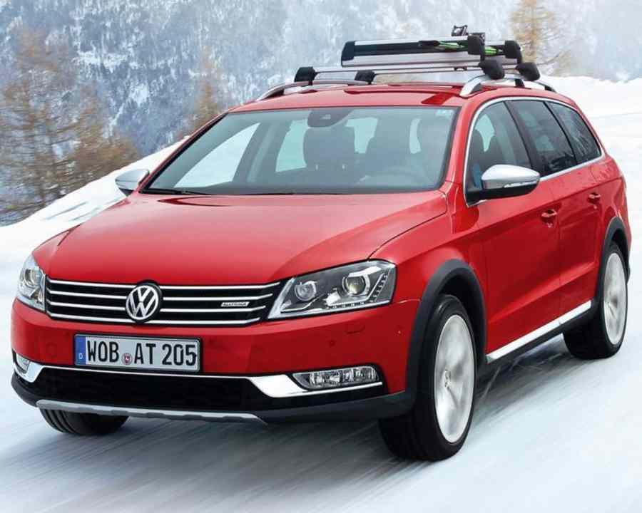 Volkswagen Passat Alltrack 2012 - тест-драйв