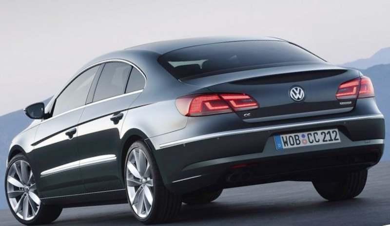 Volkswagen Passat CC 2012 цена