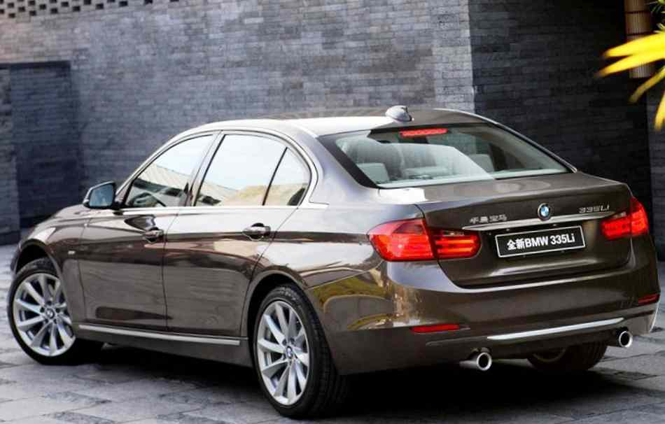Задние фонари BMW 3-Series Long Wheelbase 2013