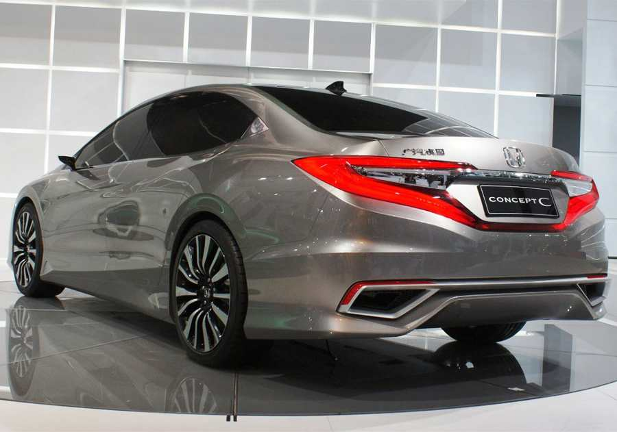 Задние фонари Honda C Concept 2012