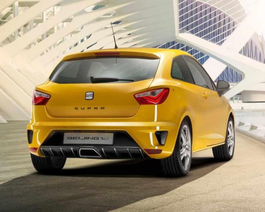 Задние фонари Seat Ibiza Cupra 2012